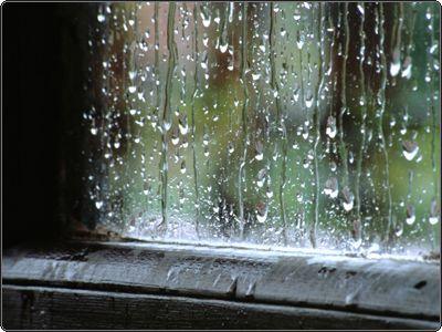 Quiero que llueva, así mi tristeza tendría un fundamento